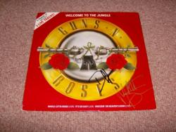 WELCOME RED 12INCH AUTOGRAPHED