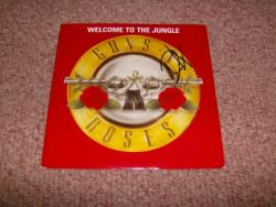 WELCOME UK 7INCH AUTOGRAPHED