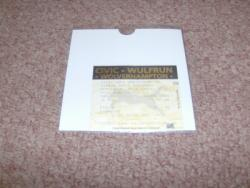 WOLVES STUB 6TH MAY