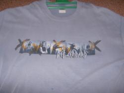 X WORLD TOUR TEE SHIRT