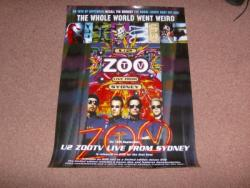 ZOO TV PROMO POSTER